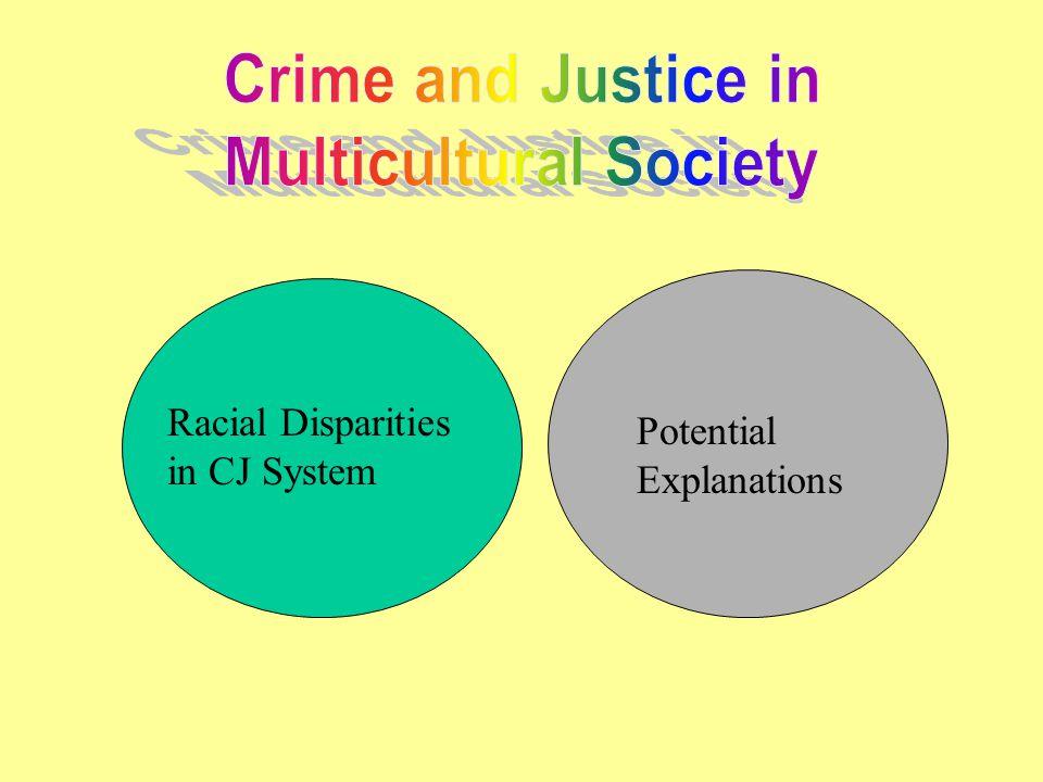 Racial Disparities in CJ System Potential Explanations
