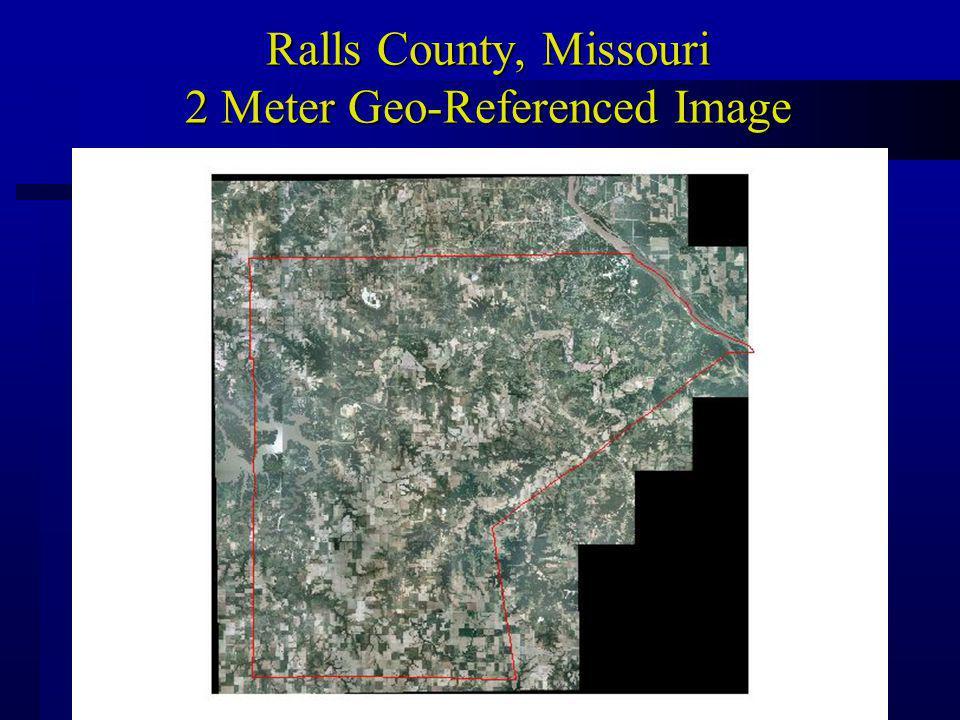 Ralls County, Missouri 2 Meter Geo-Referenced Image
