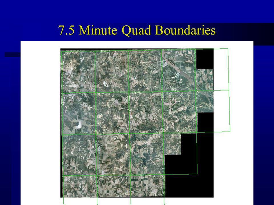 7.5 Minute Quad Boundaries