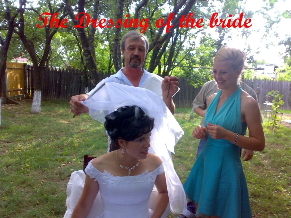 The Dressing of the bride