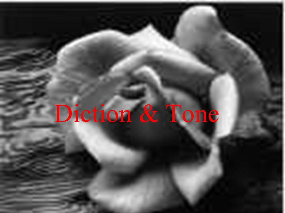 Diction & Tone