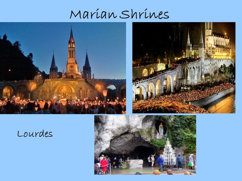 Marian Shrines Lourdes