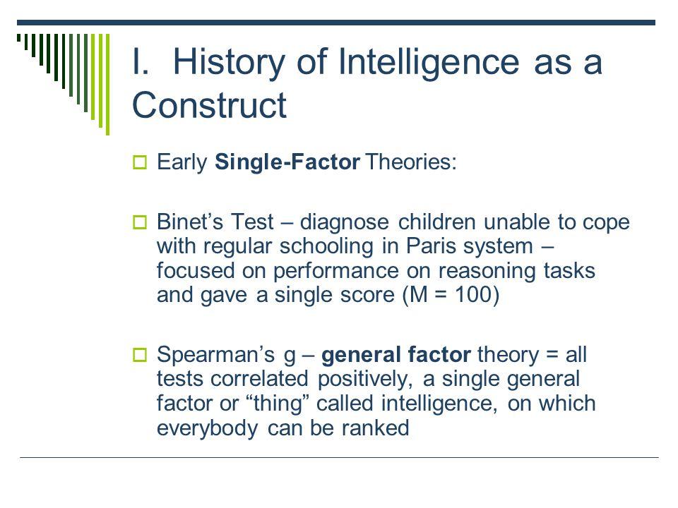 Multiple Factor Theories Thurstones Original 7 Primary Mental Abilities Verbal meaning Perceptual speed Reasoning Number Associative memory Word fluency Spatial orientation