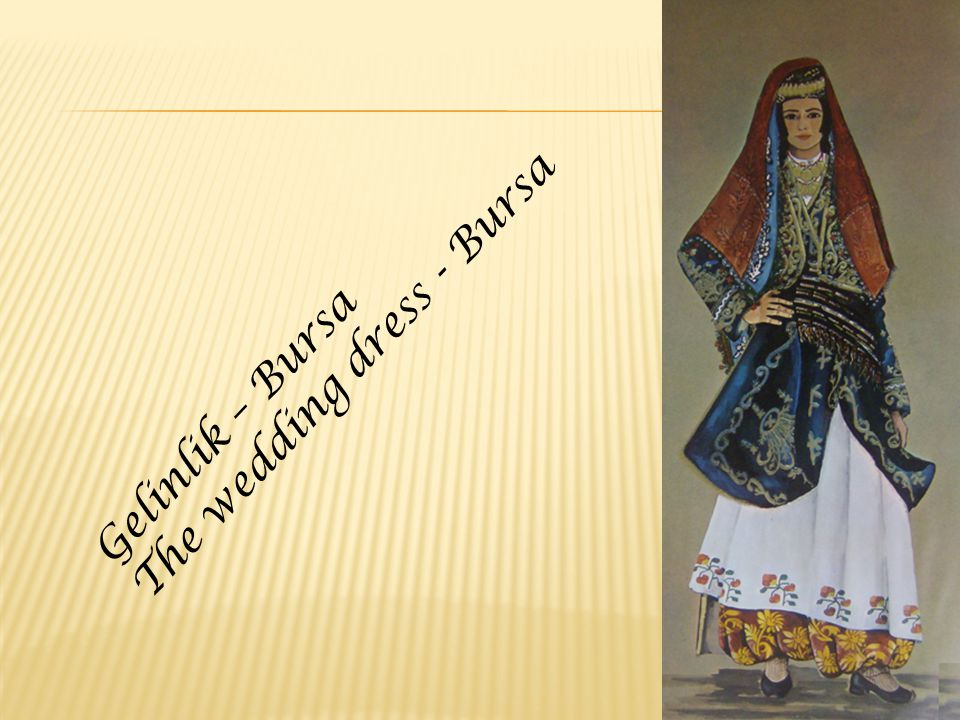 Gelinlik – Bursa The wedding dress - Bursa