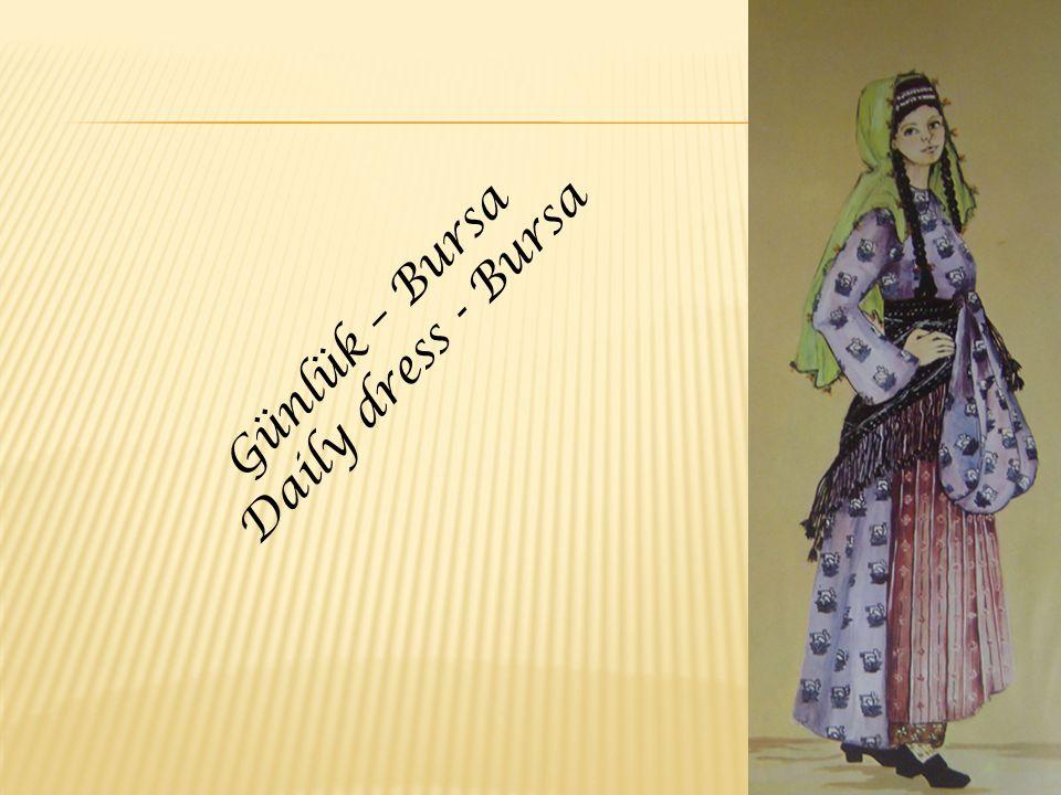 Günlük – Bursa Daily dress - Bursa