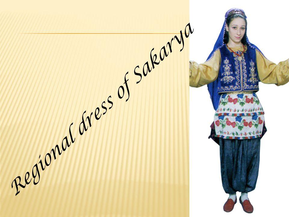 Regional dress of Sakarya
