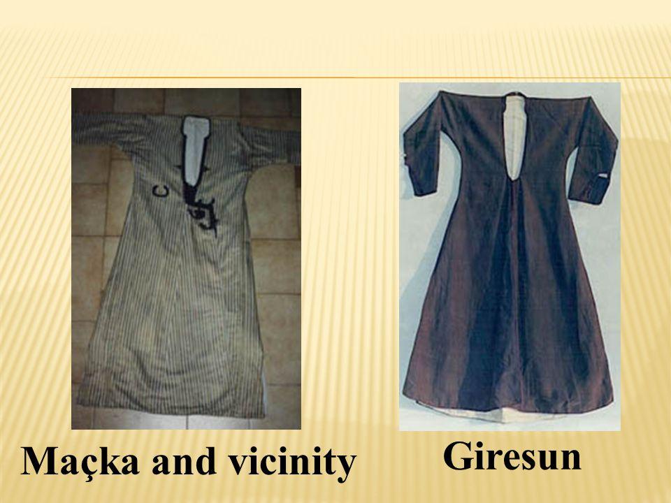 Giresun Maçka and vicinity