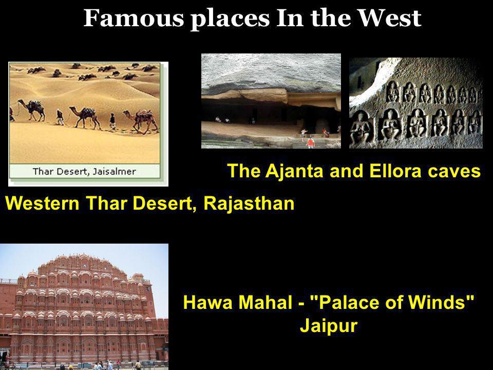 Western Thar Desert, Rajasthan Hawa Mahal -