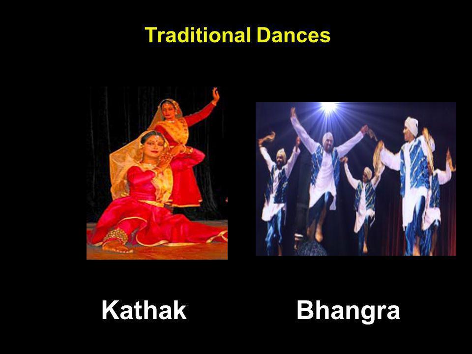 Traditional Dances BhangraKathak