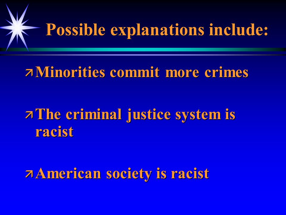 The Criminal Justice System (or Non-System).