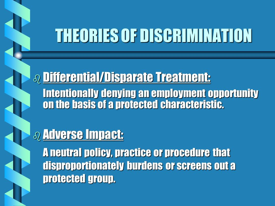 Employment Decisions Regulated by Law b Hiring, firing, promotions, transfers, layoffs b Recruitment, testing, advertisements b Compensation, retireme