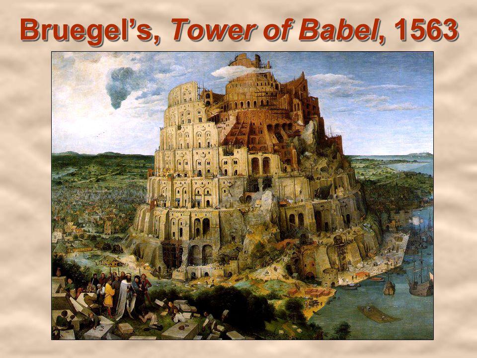 Bruegels, Tower of Babel, 1563