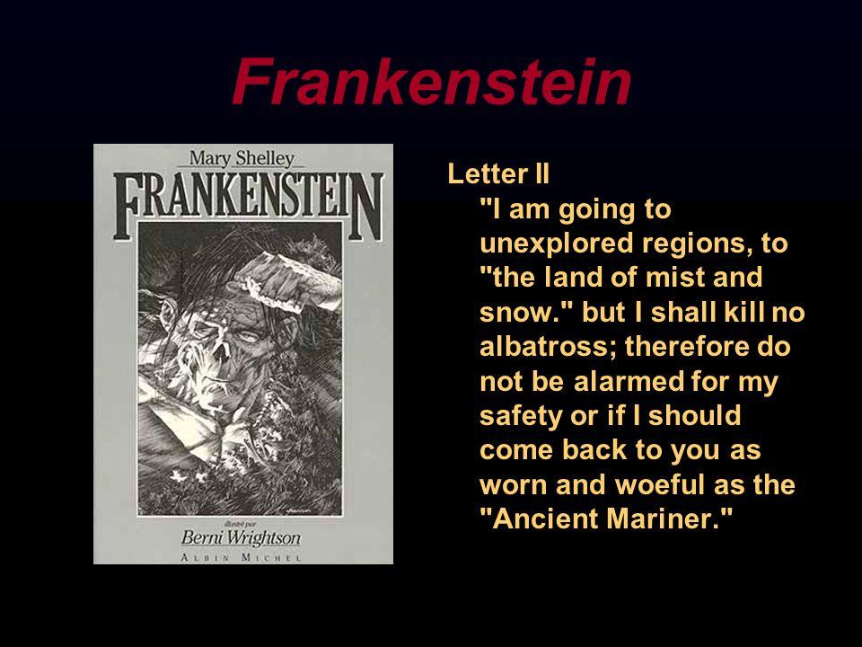 Frankenstein Letter II