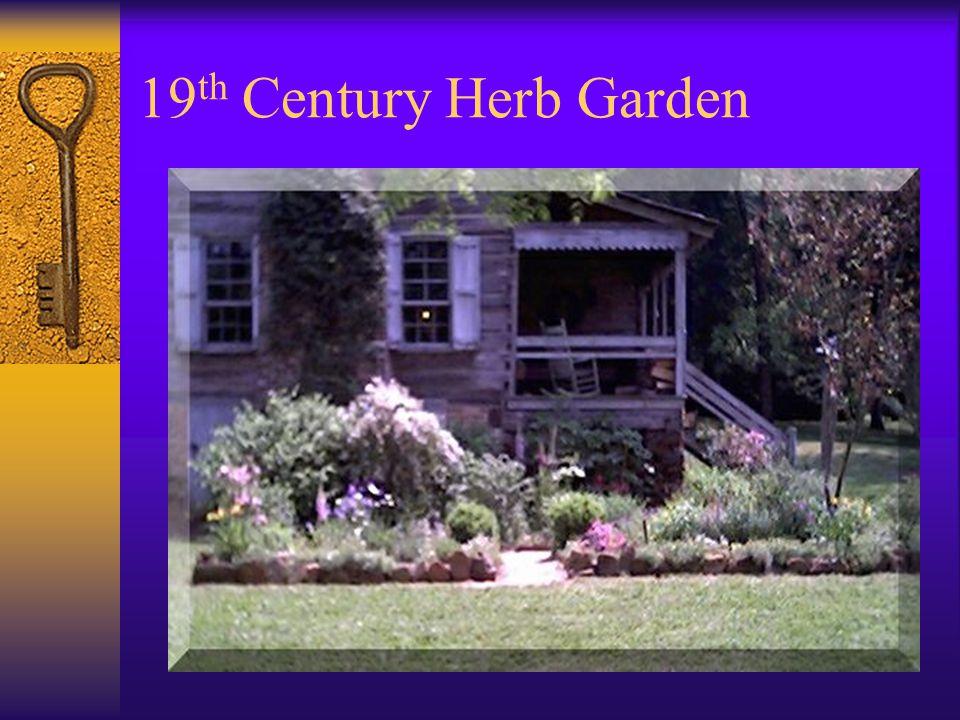 19 th Century Herb Garden