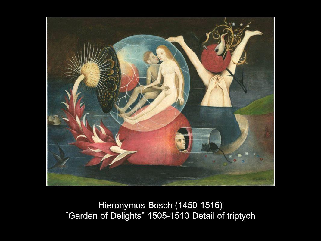 Hieronymus Bosch (1450-1516) Garden of Delights 1505-1510 Detail of triptych