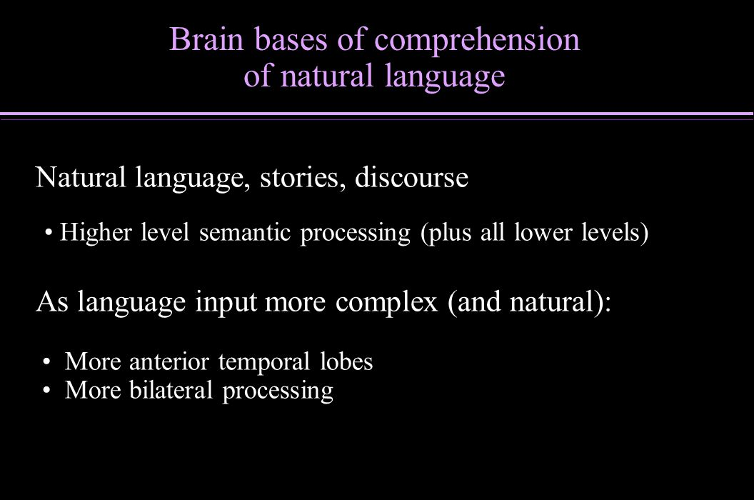 Most problems solved with mix of analytic and insight processing Distinct computations, distributed across hemispheres, allows two approaches to proceed simultaneously (partially interactive) Hemispheric components, task shielding/switching Brain bases of insight during problem solving: Aha.