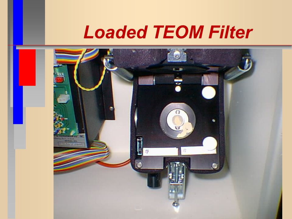 Loaded TEOM Filter