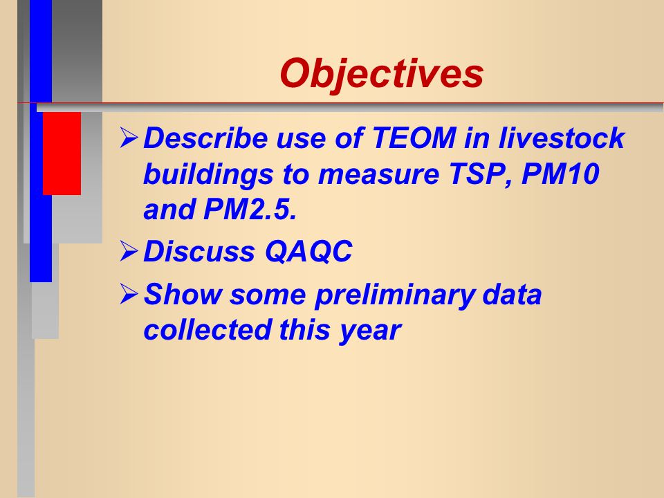 Effect of Pig Activity on TSP