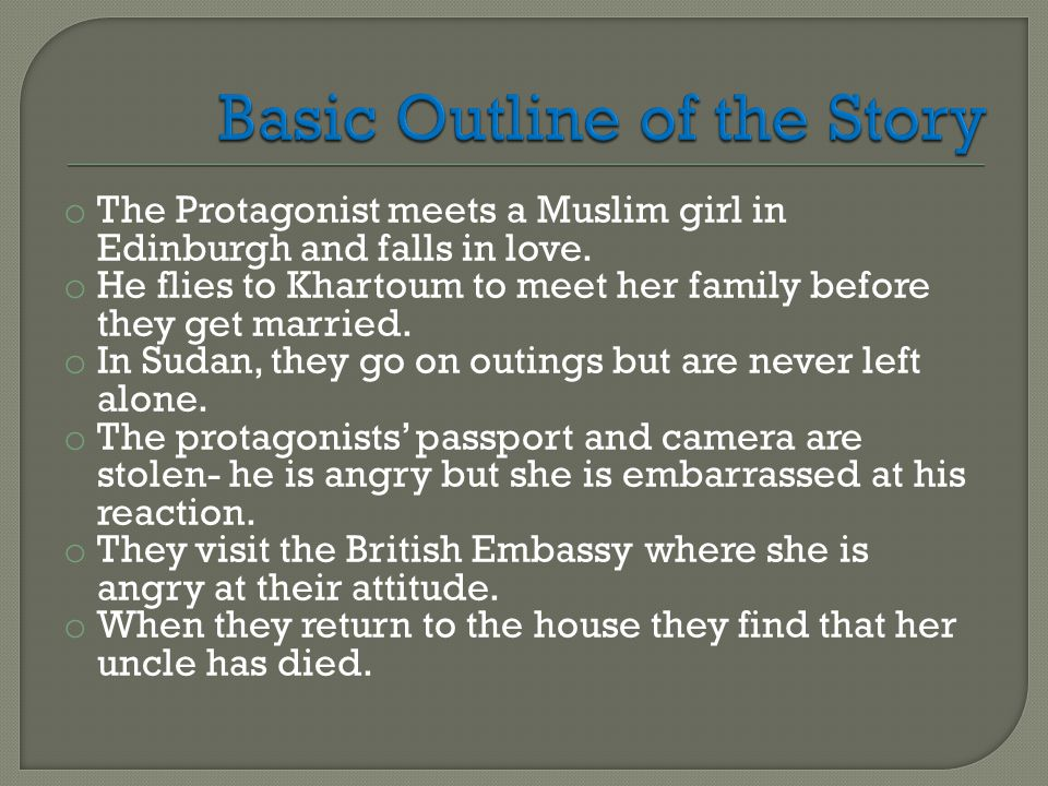 o The traditional three day mourning period means that they are unable to see or talk to each other.