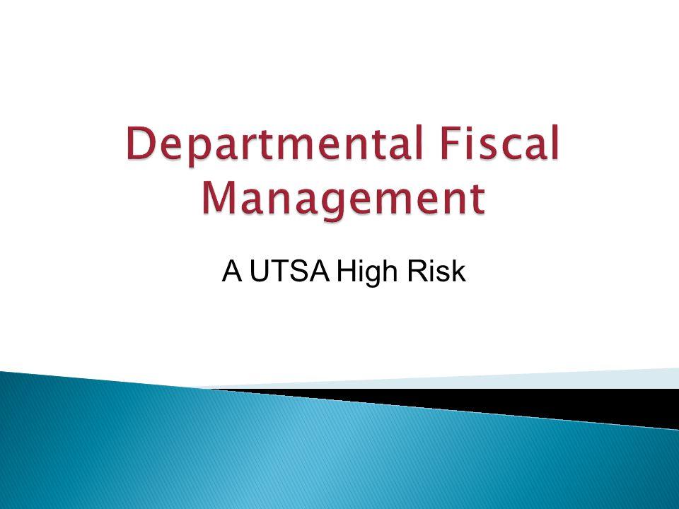 A UTSA High Risk