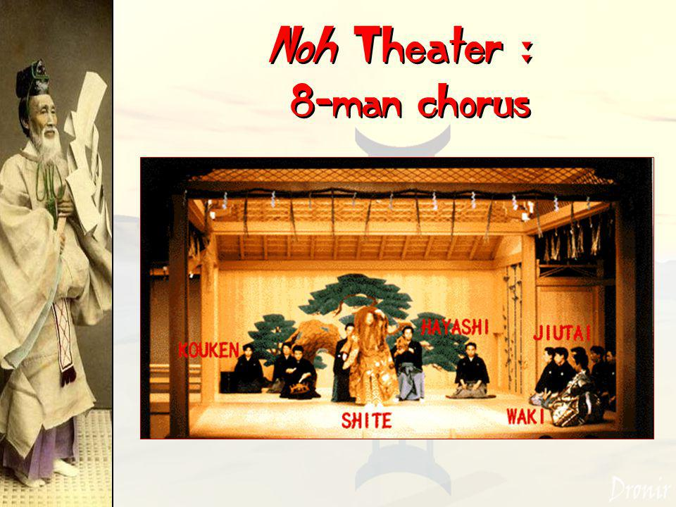 Noh Theater : 8-man chorus