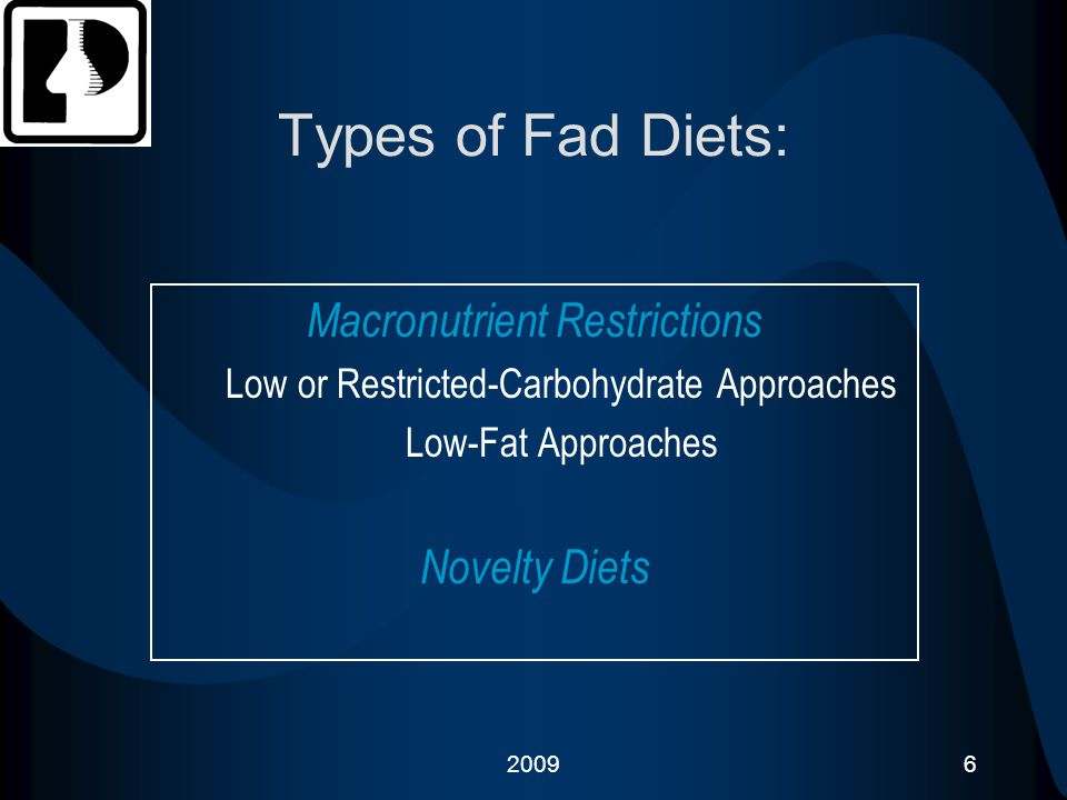 200917 Examples of : Low or Restricted Carbohydrate Approaches Dr.