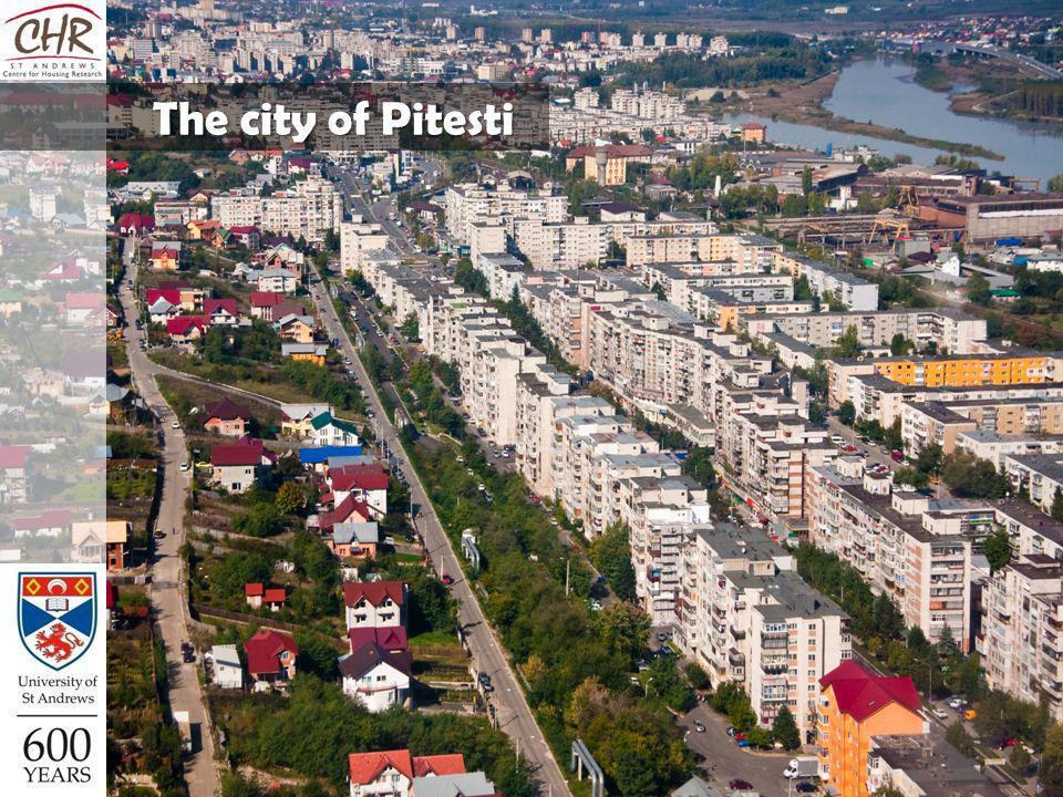 The city of Pitesti