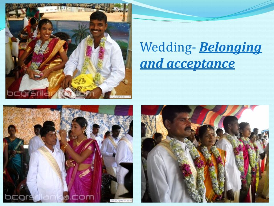 20 Wedding- Belonging and acceptance