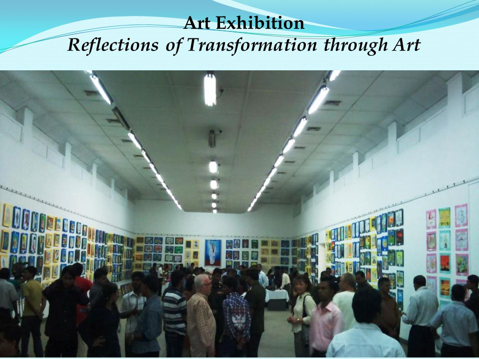 Art Exhibition Reflections of Transformation through Art