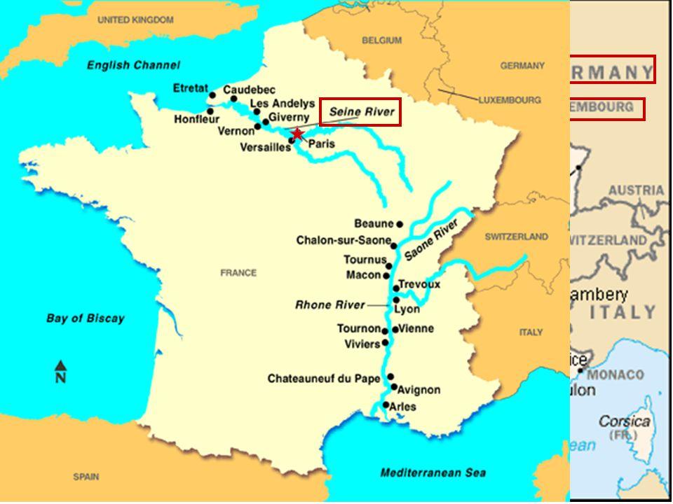 Location of Paris