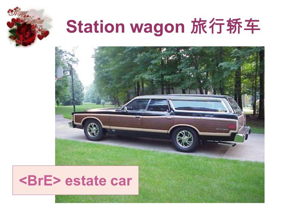 Station wagon estate car