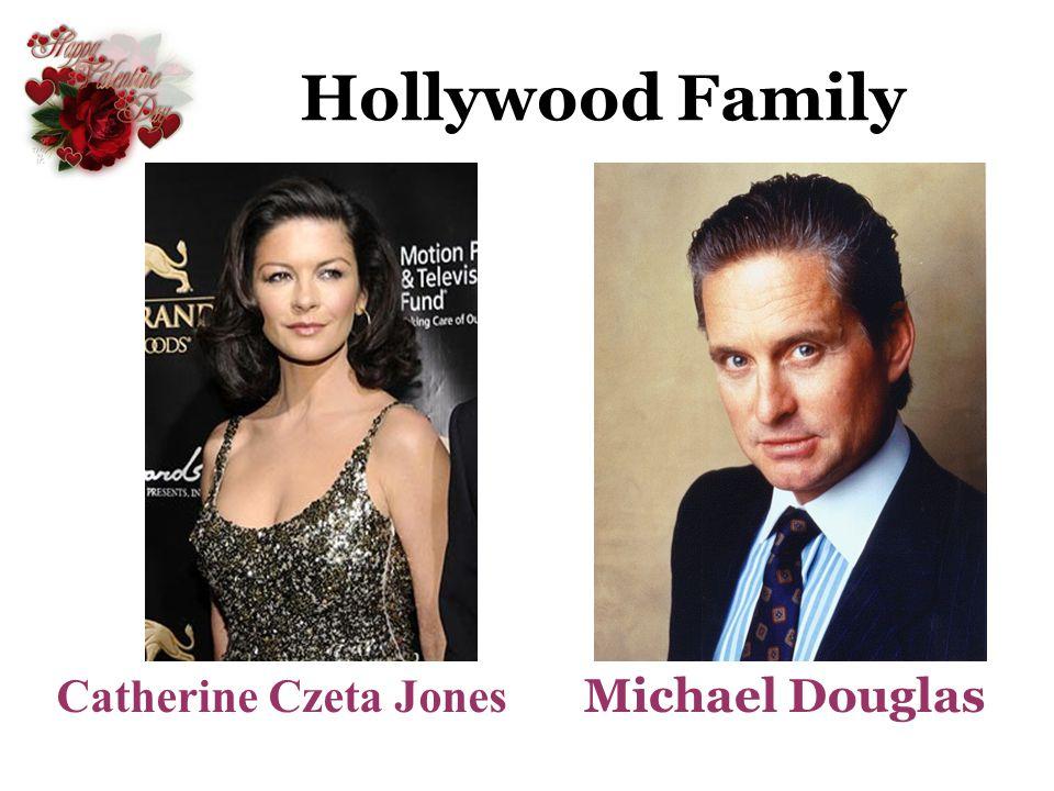 Hollywood Family Michael Douglas Catherine Czeta Jones