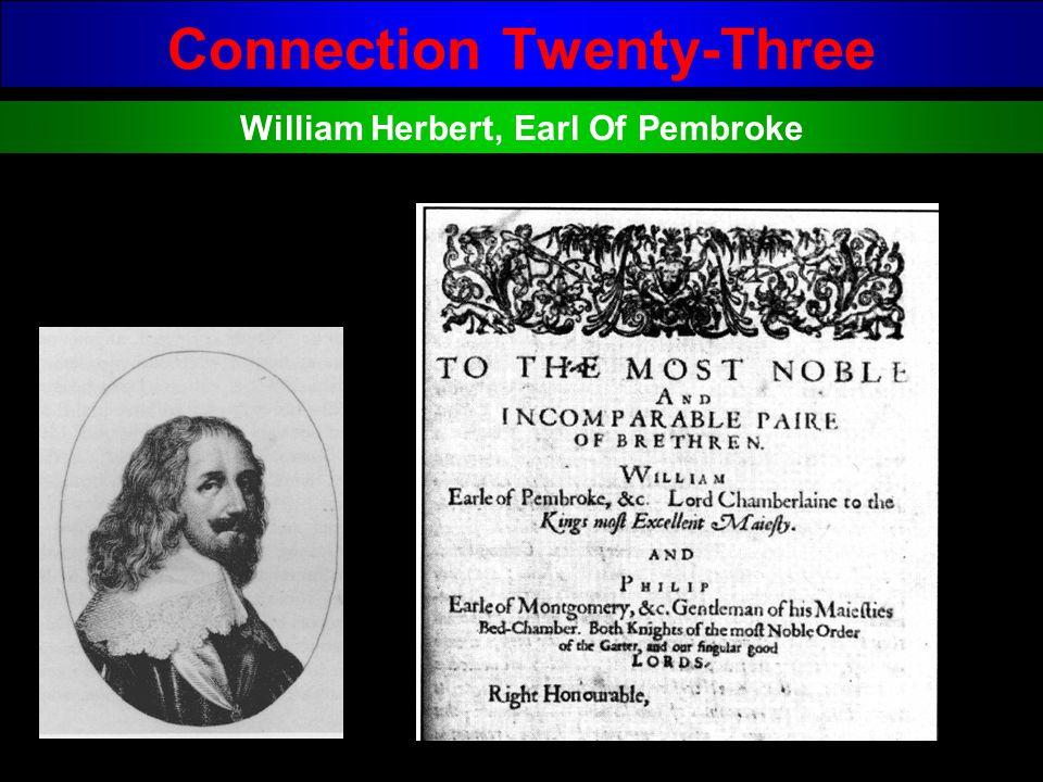 Connection Twenty-Three William Herbert, Earl Of Pembroke