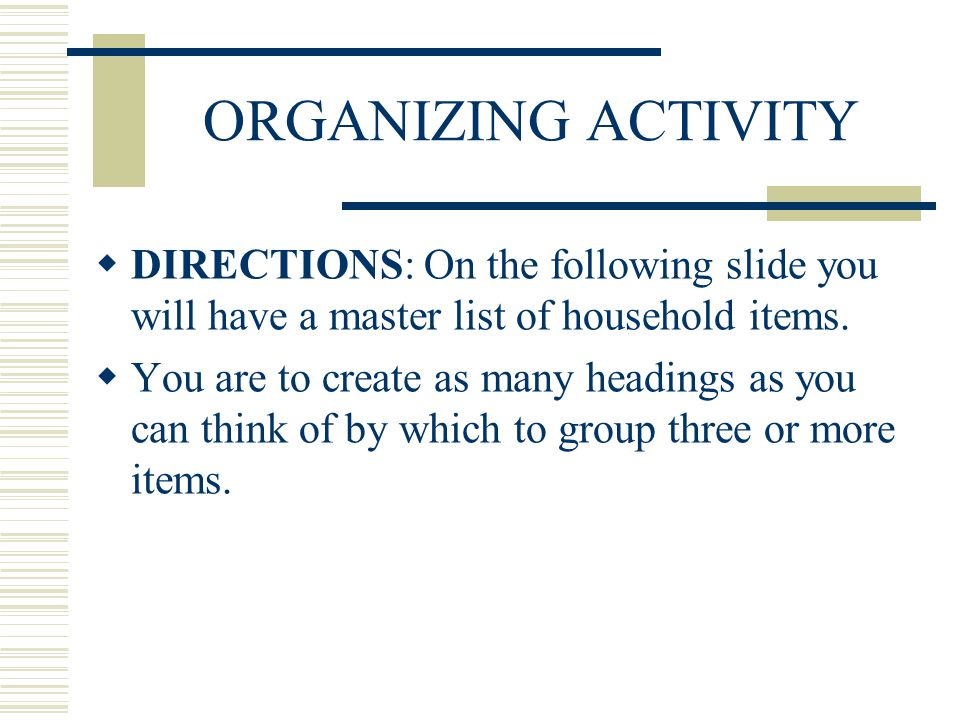 BODY OF THE SPEECH ORGANIZING TRANSITIONS OUTLINING