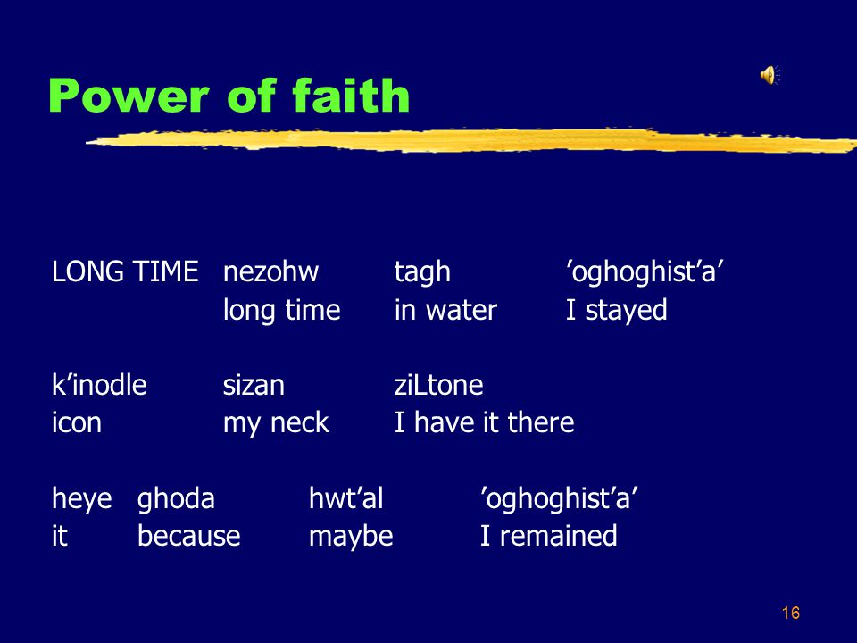 16 Power of faith LONG TIMEnezohwtaghoghoghista long timein waterI stayed kinodlesizanziLtone iconmy neckI have it there heye ghodahwtaloghoghista itb
