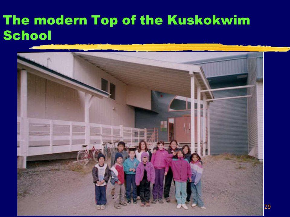 29 The modern Top of the Kuskokwim School