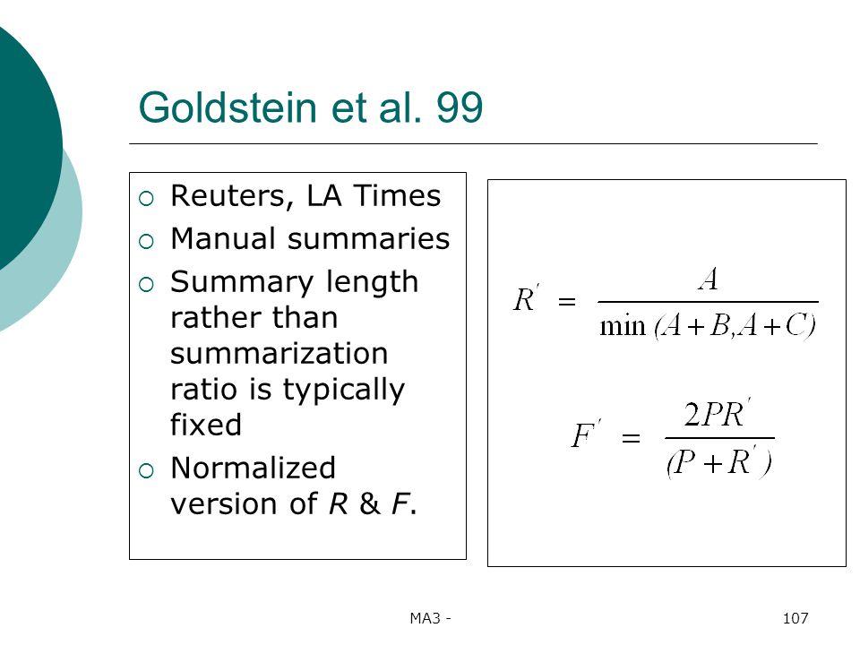MA3 -107 Goldstein et al.