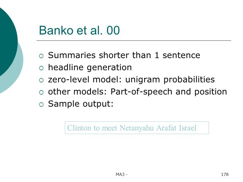 MA3 -178 Banko et al.