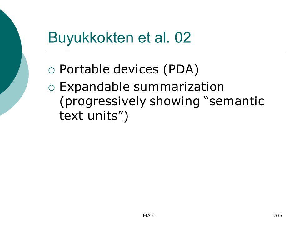 MA3 -205 Buyukkokten et al.