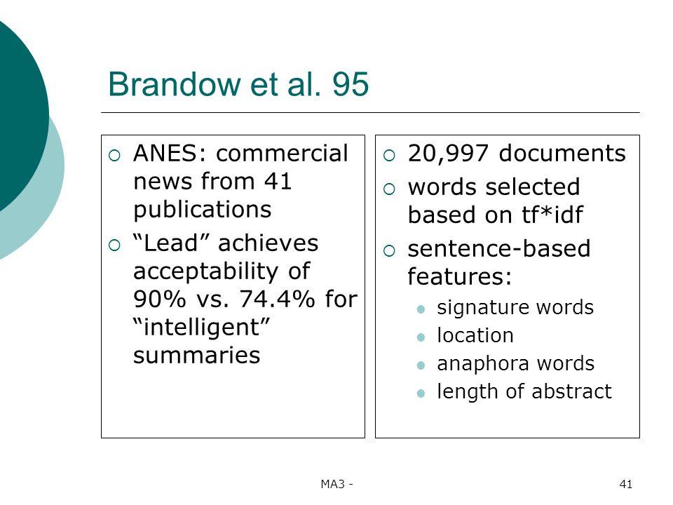 MA3 -41 Brandow et al.