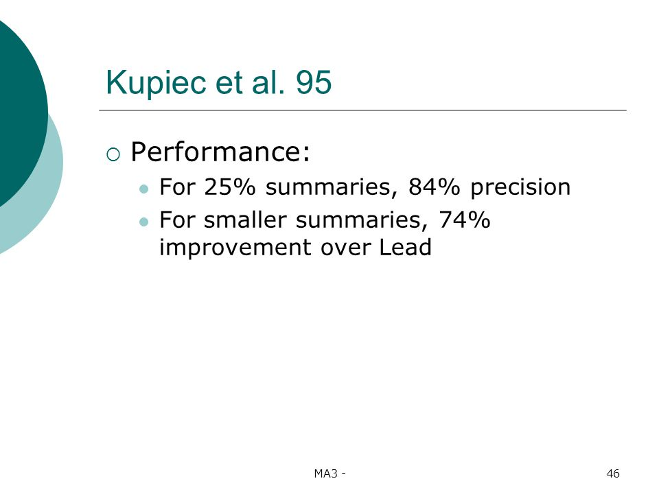 MA3 -46 Kupiec et al.