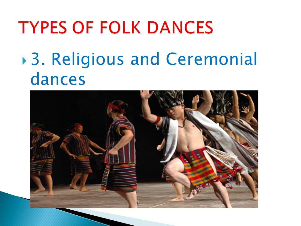 2. Occupational dances