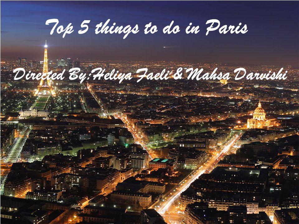 1) Eiffel Tower