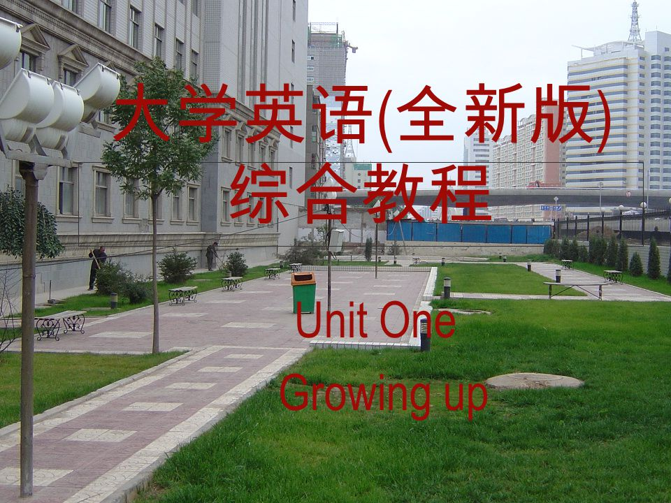 ( ) Unit One Growing up