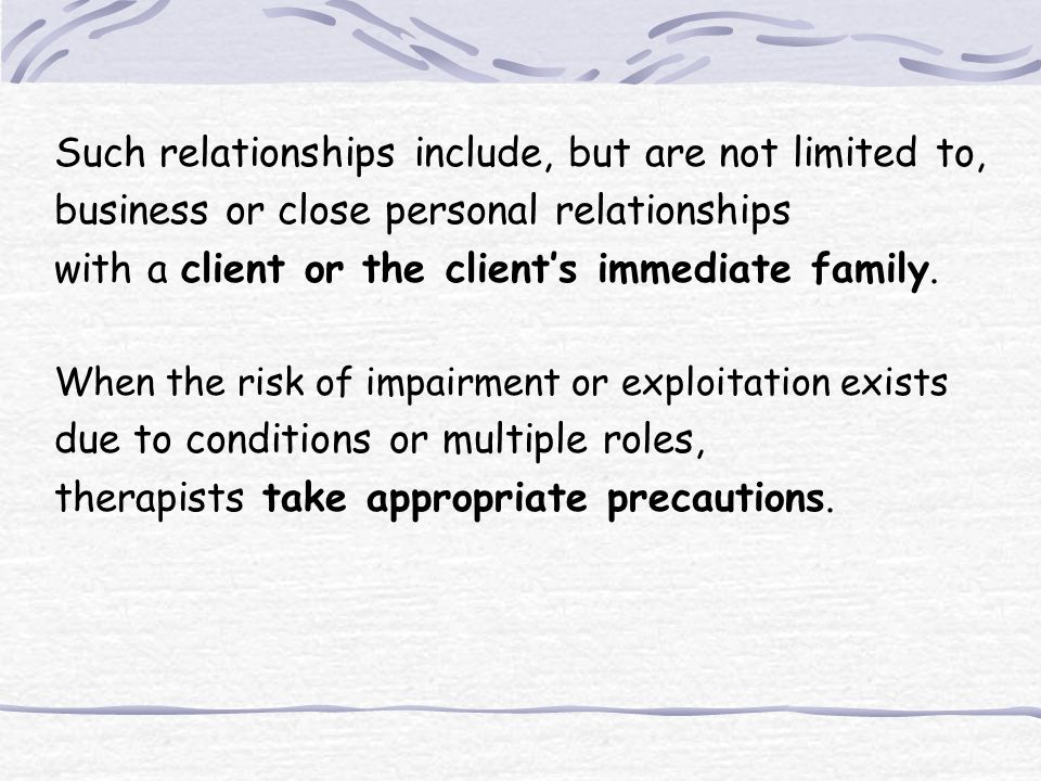 The Case of Pat In recent case: Pat is an issue discussed by counseling clients in session.