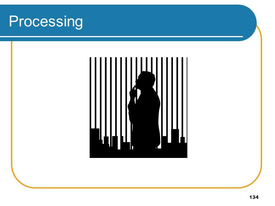 134 Processing