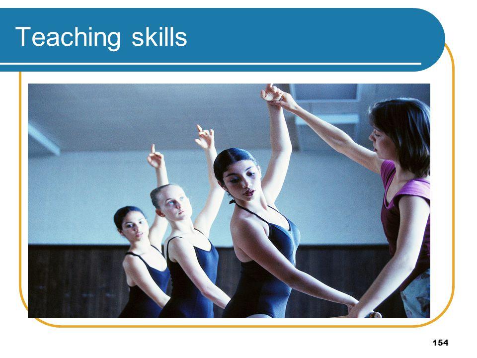154 Teaching skills