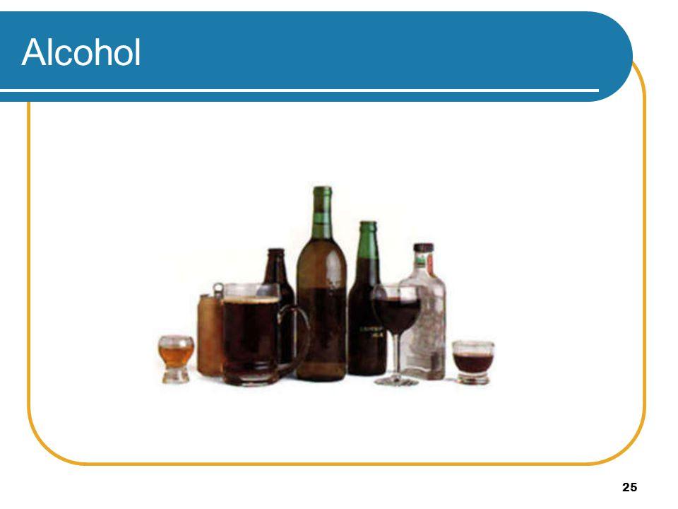 25 Alcohol