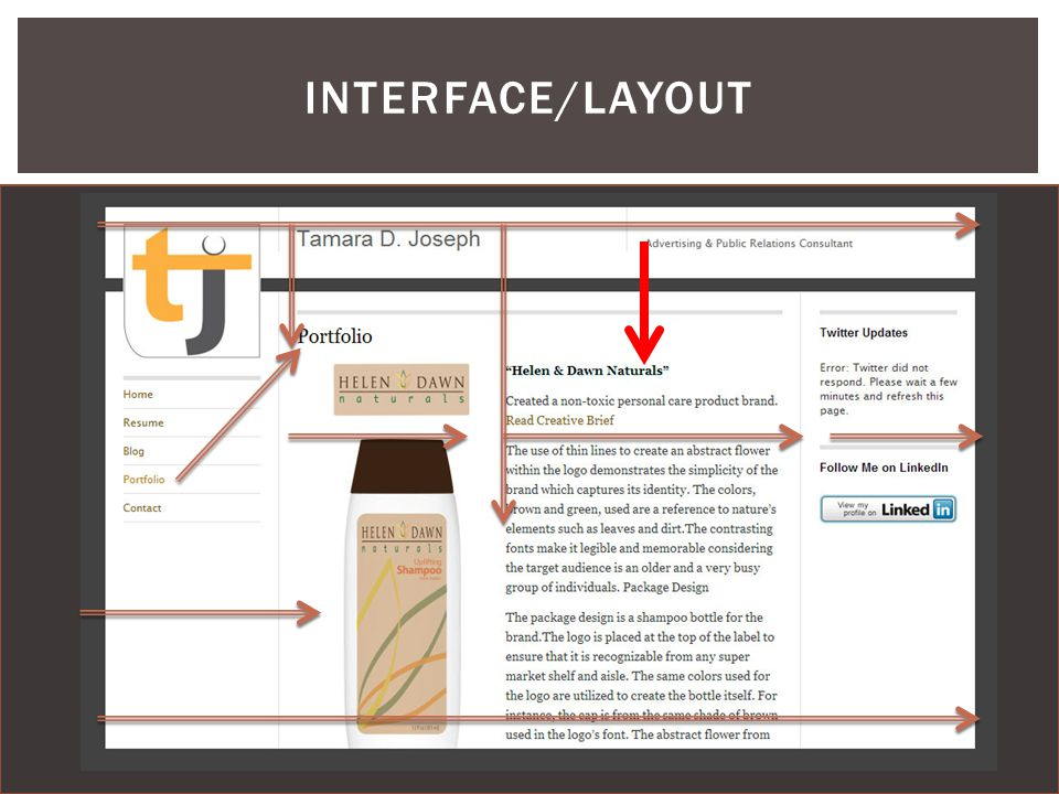 INTERFACE/LAYOUT