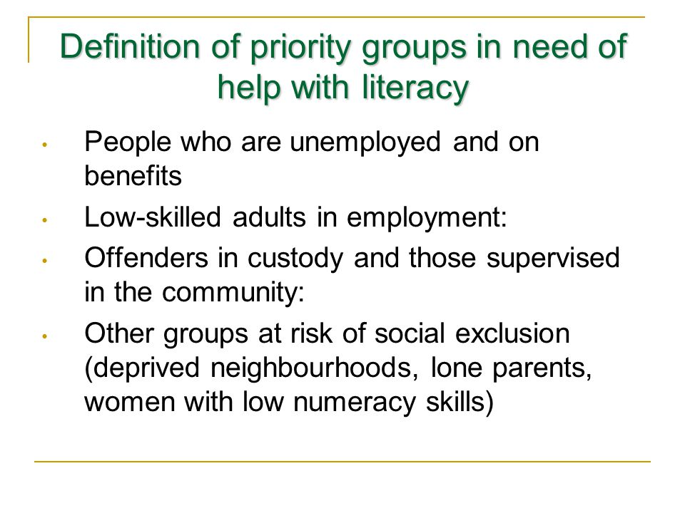 In Skills for Life the concept of individual rights as citizens is subtly changed…Lifelong Learning as duty as we now regard it as a duty on government to take adult literacy and numeracy seriously, so we will impose duties on the relevant agencies – and in certain cases on the individuals themselves – to do so too (paragraph 15 my emphasis).